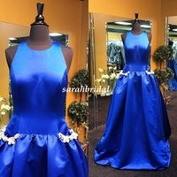 2015 Bling Long Prom Dresses with Rhinestone Pockets Retro D...