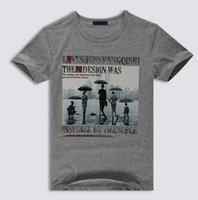Free shipping t shirt men 100%cotton summer red gray black o...