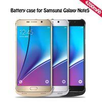 4200mAh батареи Дело Портативный Power Bank зарядное устройство Внешняя батарея резервного копирования для Samsung Примечание 5 Бесплатная доставка