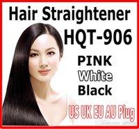 БЫСТРО Выпрямитель для волос кисти Красивая звезда NASV Прямой Инструмент Flat Iron Электронная температура управления HQT-906 US / AU / EU / UK Подключите