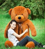 80cm giant teddy bear life size teddy bear christmas gift ho...