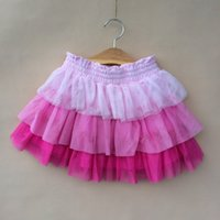 7pcs Children Girls Summer Gauze Short Skirts 2014 Kids Clot...