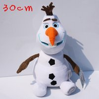 2015 Frozen 30cm Olaf the snowman plush toys stuffed dolls c...