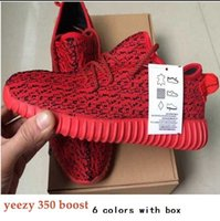 BEST QUALITY Kanye West Yeezy 350 Boost Shoes black moon roc...