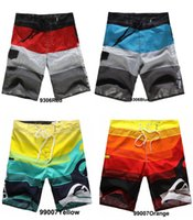 Hot Men' s Board Shorts Surf Trunks Swimwear with Wax Co...