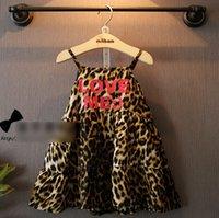 2015 Summer Fashion Love Me Girls Dresses Slip Sleeveless Dr...