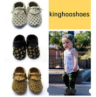 Livre fedex ups navio de alta qualidade couro bebê mocassins crianças tassel moccs bebê sapatos sandálias franja sapatos 2016 novo projetado moccs