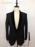 2016 Top Selling Blazers Man Suit Wedding Dresses Shawl Lape...
