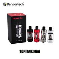 100% Original Kangertech Debardeur Mini atomiseurs 4ml Top Remplissage Airflow Tank Control avec SSOCC Bobines pour Kbox Mini 75W TC Box Mod