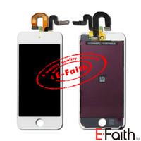Écran tactile d'affichage d'OEM LCD de 10PCS / Lot avec l'assemblage complet de numériseur pour la couleur blanche du contact 5 5G de blanc d'iPod Livraison gratuite de DHL