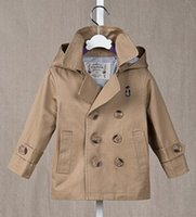 NEW ARRIVAL baby boy kids Spring Fall tench coat blazers coa...