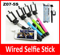 Z07- 5S 5plus Extendable Handheld Monopod Audio cable wired g...