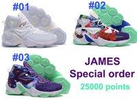 James 13TH 25000 Points Special order Men s Basketball Shoes...
