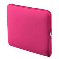 Portable Laptop Laptop Case Sac Zipper souple manches Conception pour 14 pouces 14