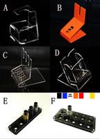 affichage cig e acrylique crémaillère clair étagère stand support de vape pour ego batterie ecig Vaporisateur stylo mech mod mécanique boîte vape vapeur d'rda