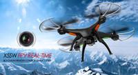 Syma X5SW 4CH 2.4G 6 axes Gyro RC Wifi FPV Quadcopter avec RM3009 0.3MP Camera
