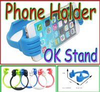 Newest cell phone holder Beautiful color OK Stand for ipads ...