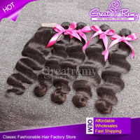 7A Free Part Lace Closure With Brazilian Body Wave Human Hai...