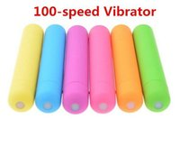 The First 100- speed Vibration Anal Vagina Cltoris Vibrator S...