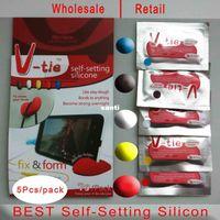 7g / пакет Diy V-галстук Sugru клей 5 Цвет силиконовой резины Клей Универсальный Силикагель Form Fix Tool Ремонт Черный