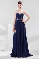 Under 50 Grace Karin Strapless Chiffon Long Bridesmaids Dres...