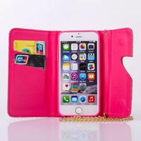 Personnalité chaussures à talons hauts boucle porte-monnaie type holster téléphone mobile pour iPhone 4.7 / 5.5 pouces téléphone mobile écran