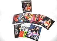 Jillian Michaels 12 DVD Workout Plan d'Rotational Calendrier Repas, Guide de remise en forme