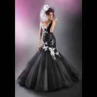 Luxurious Pageant Gowns For Women Black Spaghetti Straps Eve...