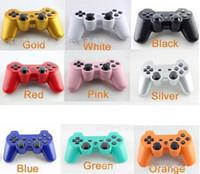 PS3 sans fil Bluetooth Gamepad contrôleur pour PlayStation 3 PS3 jeu Multicolor contrôleur Joystick pour Android Jeux vidéo avec Packag