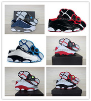 Wholesale 2015 New Color Basketball Shoes Retro 13 Low Bred ...