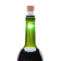 Originalità Luce Cork USB a forma ricaricabile USB LAMPADA Sughero Bottiglia Plug Bottiglia di vino Bottiglia Luce del LED della luce di notte L0803