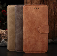Retro Matting PU Leather Case For iphone 6 iphone6 Plus Wall...