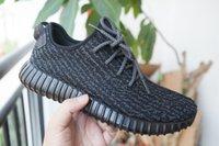 2016 Kanye West Fashion Yeezy Boost Black Shoes Fashion Yeez...