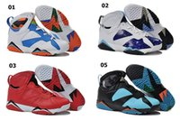 New and Cheap Retro 7 Basketball Shoes High Quality Men Bask...