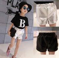 NEW ARRIVAL baby girl kids Korean shorts short pants patent ...