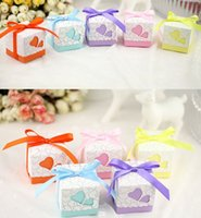 5cm*5cm*5cm Square Wedding Favors Boxes Wedding Candy Box Si...