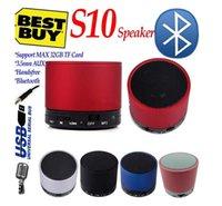 S10 Bluetooth Speakers Aluminium Mini Wireless Portable Spea...