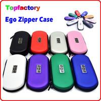 Ego Zipper para el bolso de cigarrillo electrónico Tamaño grande de Middel pequeño con la insignia del ego Colorido lleva la caja para los kits de E-cig en la acción