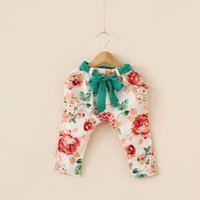 NEW ARRIVAL summer baby girl kids flower floral cotton haren...
