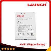 Free Shipping LAUNCH X431 Diagun ii Battery
