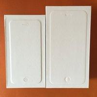 Сотовый телефон коробки Полный пакет коробки со всеми принадлежностями на iphone 4 4S iphone 5 5C 5S Iphone 6 6S Plus 500pcs