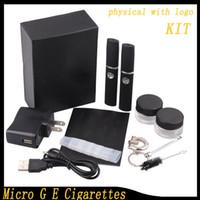 E-cig pour Micro 2015 nouveau G Action Bronson cigarette élecronique pour la cire ou de l'herbe sèche vapeur cigarettes kits herbal herbe sèche atomiseur 0211035