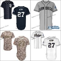 san diego padres #27 matt kemp Cheap Wholesales Baseball Jer...