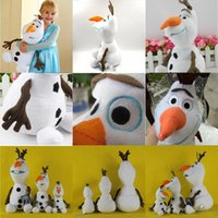 Best Gift 2014 Cartoon Movie Frozen Olaf Plush Toys For Sale...