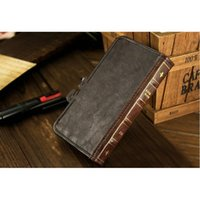 Fashion Retro Book Leather Flip Card Wallet Cover Case For i...