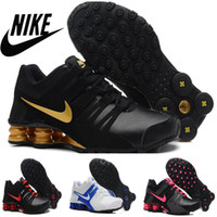 Nike Shox OZ shoes men running shoes 2016 new Athletic Train...