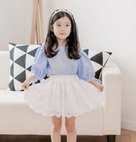 Presale A Month Lace Spring Summer Embroidered Girls Skirts ...