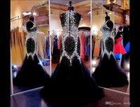 Fabulous Mermaid Prom Dresses with Crystals Jewel Sleeveless...