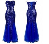 Hot Selling Bling Sweetheart Neckline Mermaid Evening Dresse...