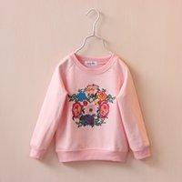 baby girl kids vintage flower floral coat cardigan sweater t...